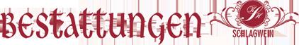 Bestattungen Schlagwein Inh. Karl-Heinz Schlagwein - Logo